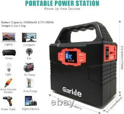 150Wh Portable Generator Power Bank with AC Outlet for Camping 48000mAh Power