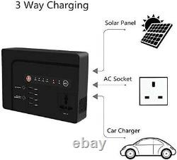 200 Watt Portable Generator Power Bank with AC Outlet for Camping 42000mAh Power