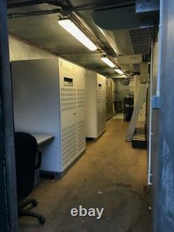 2x 200kva GE Digital SE-CE UPS In 40ft Storage Insulated Shipping Container