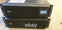 APC 5KVA UPS Rackmount with Extra Battery Pack and Rails