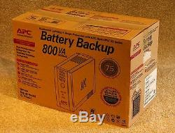 APC BR800i Tower UPS New in box New cells 12 Month Warranty