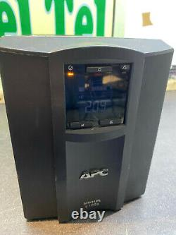APC Smart-UPS C SMC 1000I TESTED WORKING + CELLS C1000 TESTED WORKING #5D
