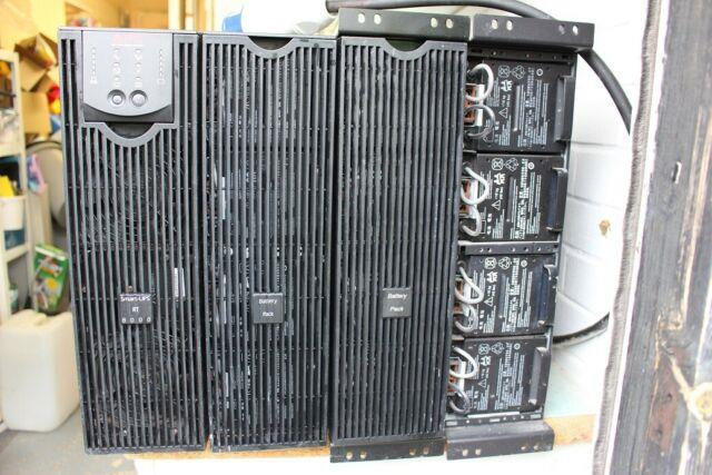 Apc Ups Surt 8000 Xli Faulty Spares Repair Additional Battery Banks Collection