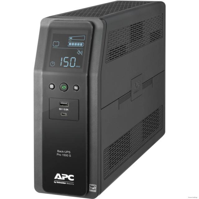 Apc By Schneider Electric Back-ups Pro Br1500ms 1.5kva Tower Ups Tower 16