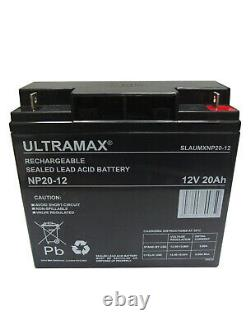 CSB GP 12200 (GP12200) Replacement Rechargeable Lead Acid UPS Battery 12V 20Ah