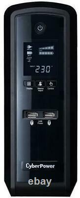 CyberPower CP1500EPFCLCDUK 1500VA PFC Sinewave UPS with LCD Display