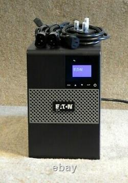 Eaton 5P 850i 850 VA Tower UPS with New Cells, 12 Month RTB Warranty