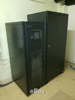 METARTEC DECI 40kVA COMPLETE UPS SYSTEM WITH SEPARATE 36 x BATTERY BANK & BYPASS
