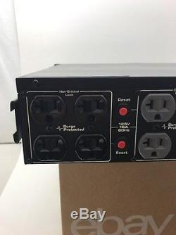 Middle Atlantic UPS-2200R Rack-mount Power Supply 1650W New Batteries