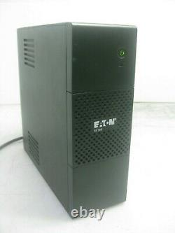 New 5S700AU Eaton UPS 700VA 420W Line Interactive Tower AVR Booster+Fader 6x 10A