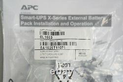 New APC SMX48RMBP2U Smart-UPS X48V External Battery Pack Rack Tower with Acc