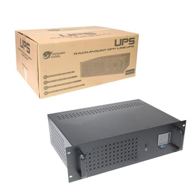 Powercool Rack-mount Off-line 1200va Ups With Lcd & Usb Monitoring