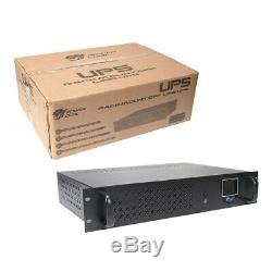 Powercool Rack-Mount Off-Line 850VA UPS with LCD & USB Monitoring