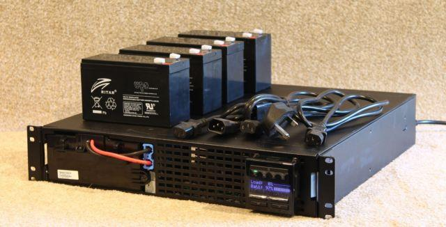 Smx1000i (2u Or Tower) Ups With New Cells 12m Rtb Warranty