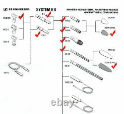 Sennheiser K6 Microphone System Powering Module with 5 pin cable for ME62 ME64